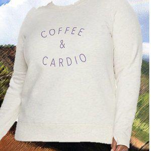 Coffee & Cardio Ultra Soft Fleece  Women's Plus 3X
